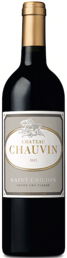 Château chauvin 2015 - rouge 75