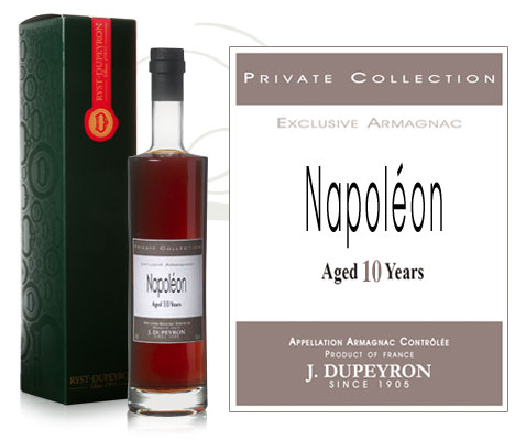 Armagnac Dupeyron Private Collection Napoléon