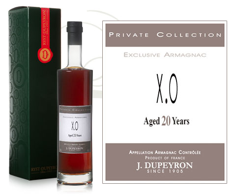 Armagnac Dupeyron Private Collection X O