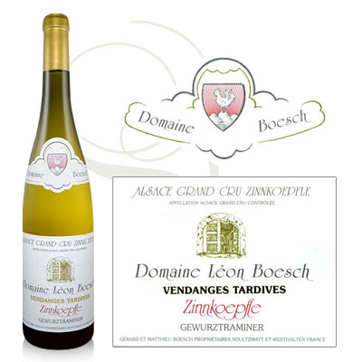 Gewurztraminer Vendanges Tardives Grand Cru Zinnkoepfle 2015