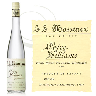 Eau de Vie de Poire Williams
