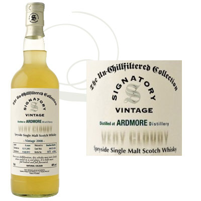 Whisky Ardmore Very Cloudy 2008